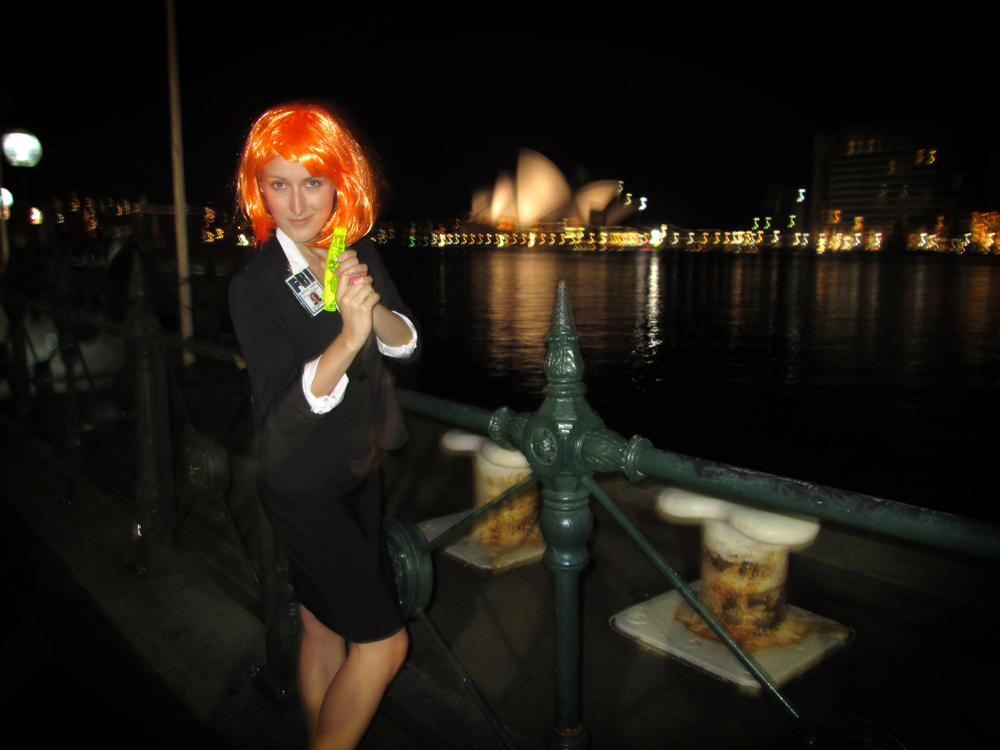 X-Files Agent Scully costume, Sydney, Australia