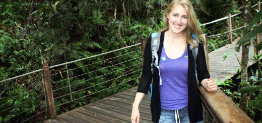 Red Peak Station, Skyrail rainforest boardwalk, Cairns, Australia