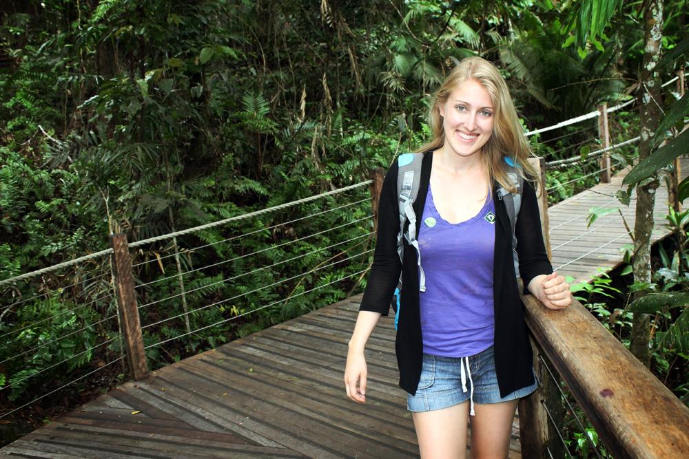 Red Peak Station, Skyrail rainforest boardwalk, Cairns, Australia