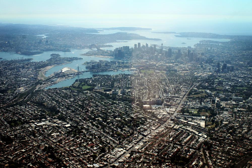 Sydney, Australia from above