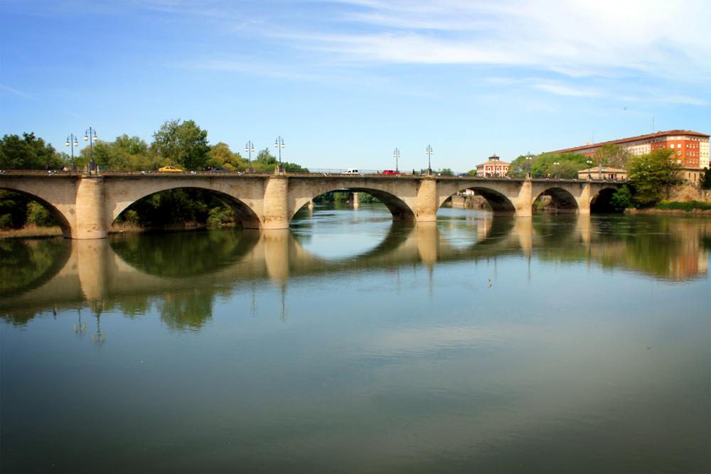 Ebro River, Logroño, La Rioja, Spain