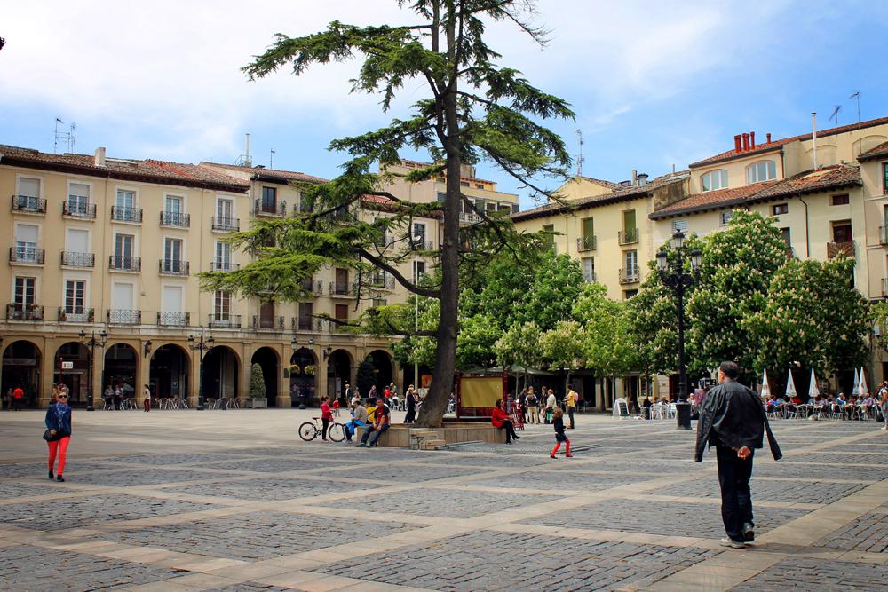 Plaza del Mercado, Logroño, La Rioja, Spain