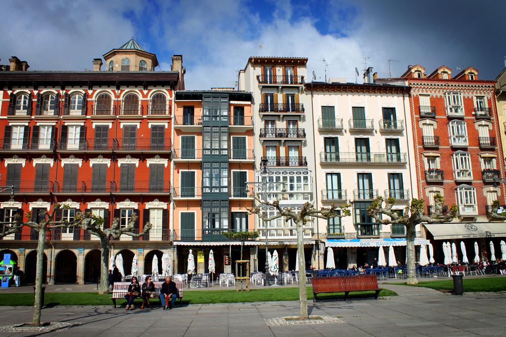Plaza, Pamplona, Spain