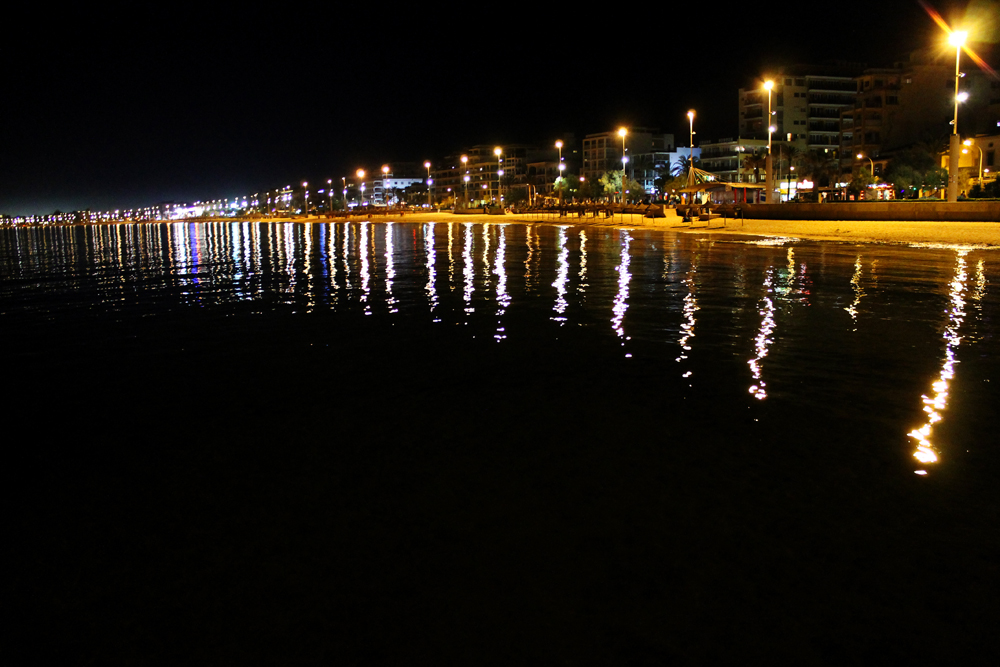 S'Arenal, Mallorca by night