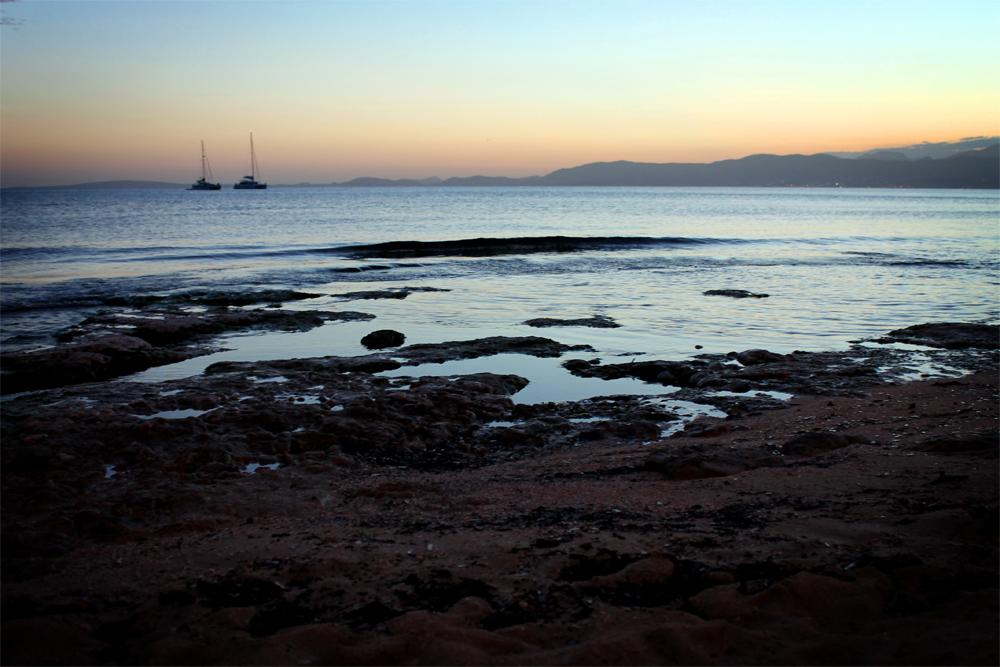 S'Arenal, Mallorca, Spain sunset