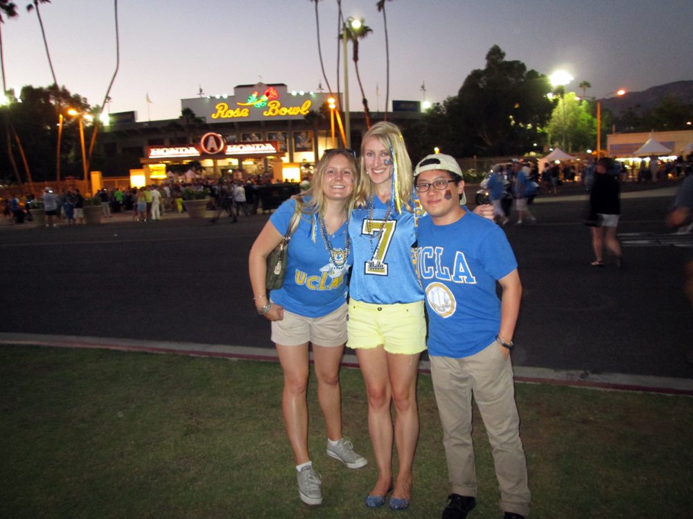 UCLA game, Rose Bowl