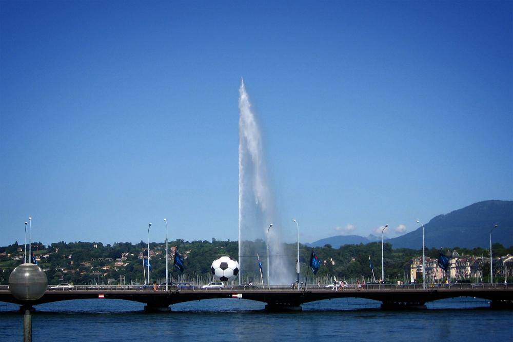 Jet d'Eau, Geneva, Switzerland