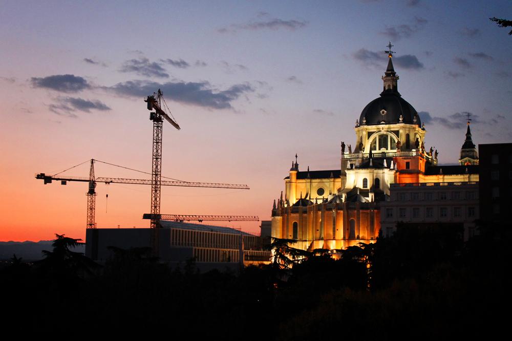 La Almudena cathedral, Madrid, Spain