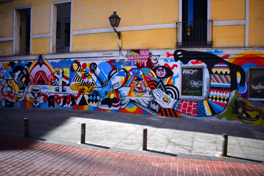 Malasaña, Madrid, Spain