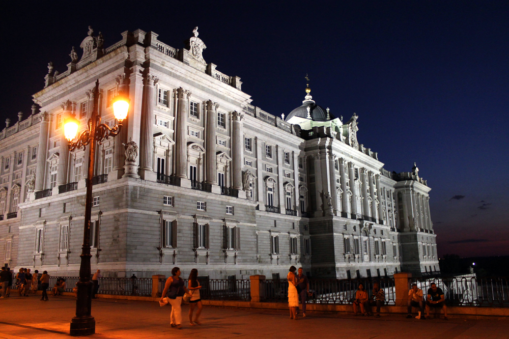 Palacio Real, royal palace, Madrid, Spain