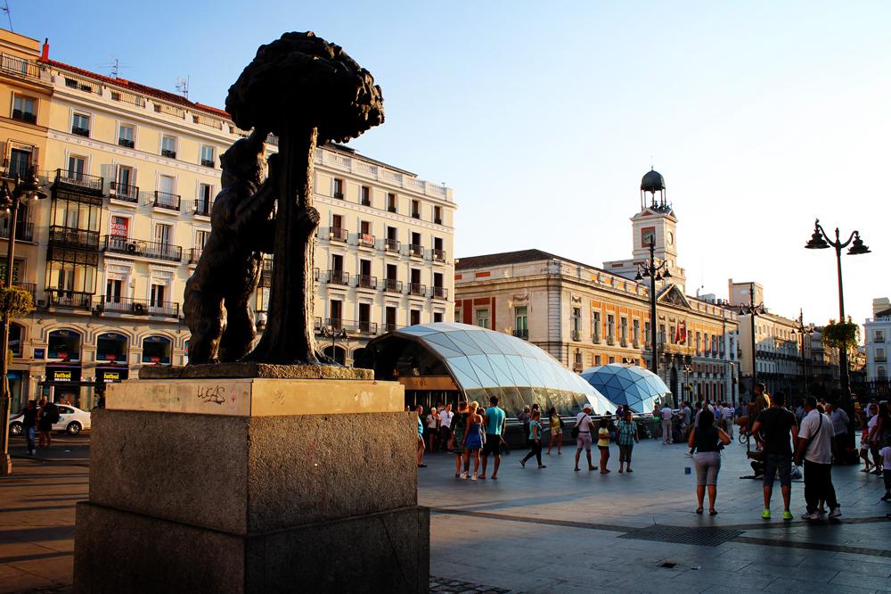 El Oso y el Madroño, Puerta del Sol, Madrid, Spain