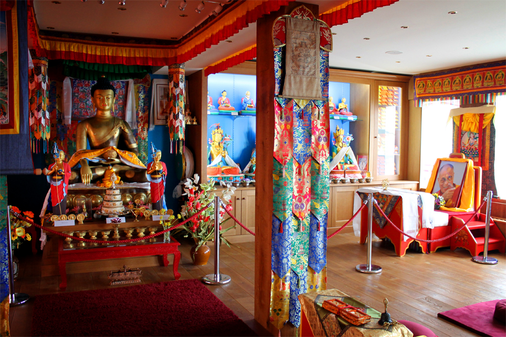 Tibetan Buddhist Temple, Mount Saleve