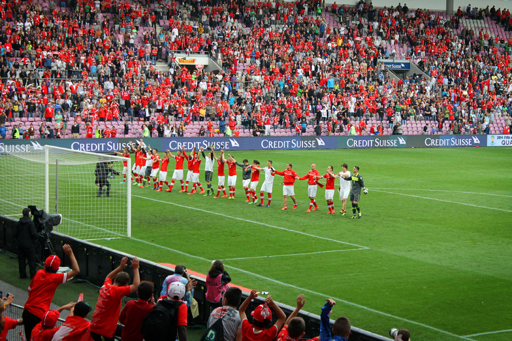 Switzerland-Cyprus World Cup Qualifying Match