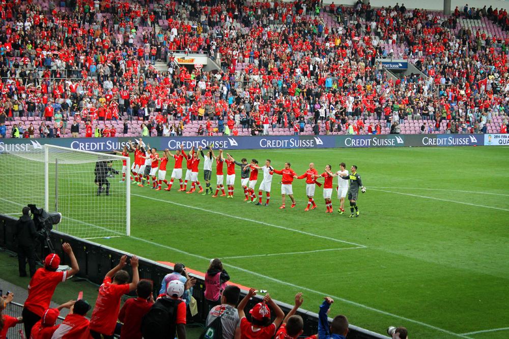 Switzerland-Cyprus World Cup Qualifying Match