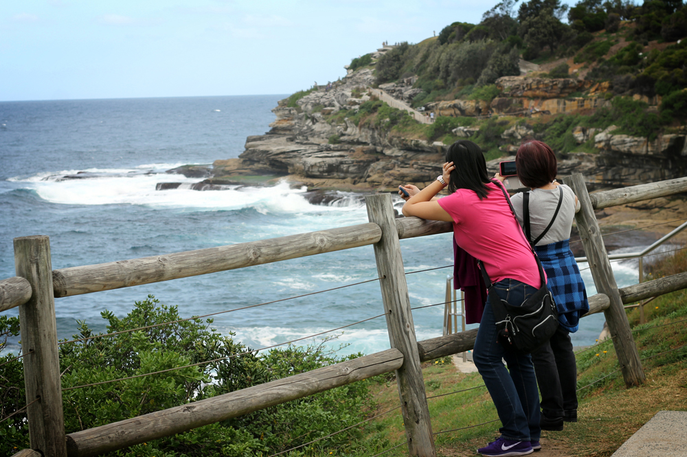Bondi to Coogee coastal walk, Sydney