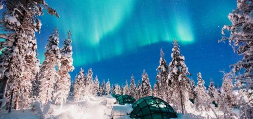 Kakslauttanen Arctic Resort, Finland, Northern Lights