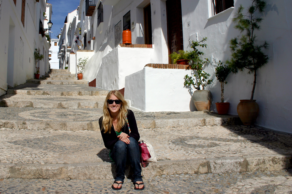 I would not suffer having a house here in Frigiliana, Spain