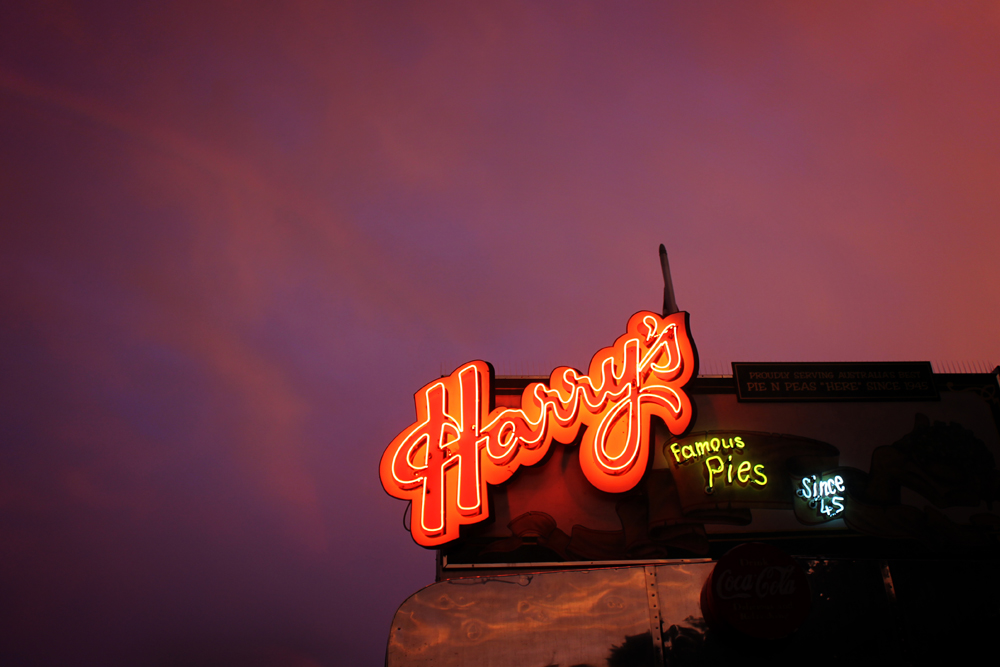 Harry's pies, Sydney