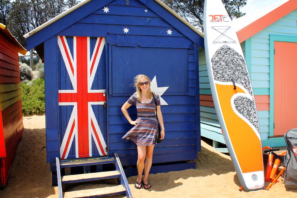 Melbourne's Brighton Beach