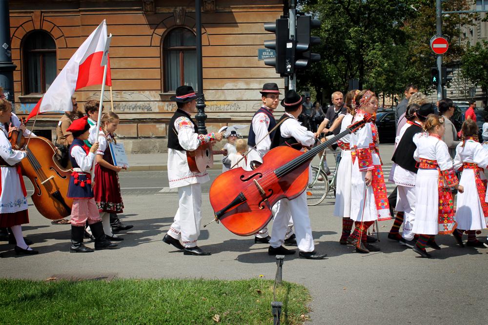 Slavic Parade, Zagreb, Croatia