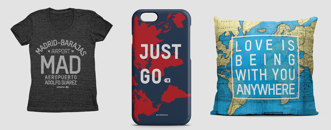 Travel gift ideas - airportag