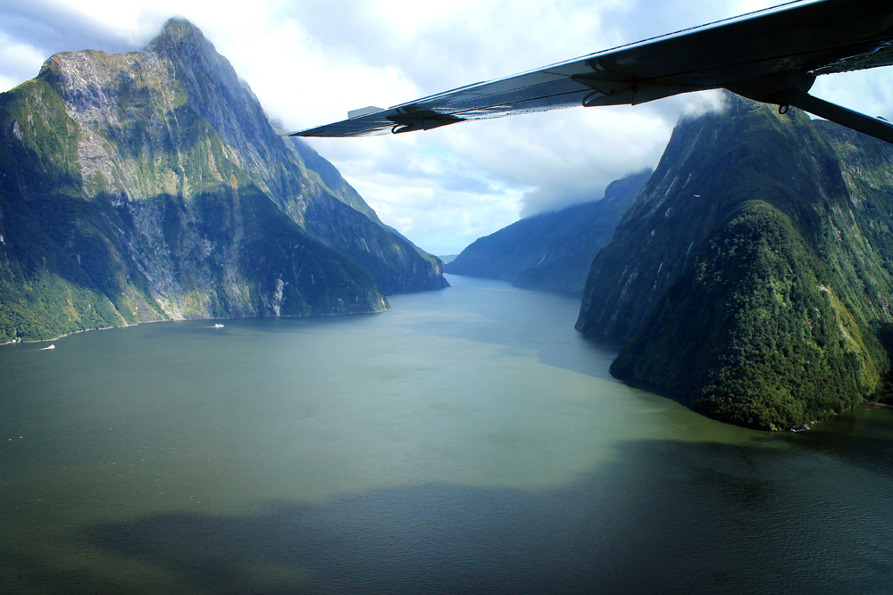Air Milford, Milford Sound scenic flights, New Zealand
