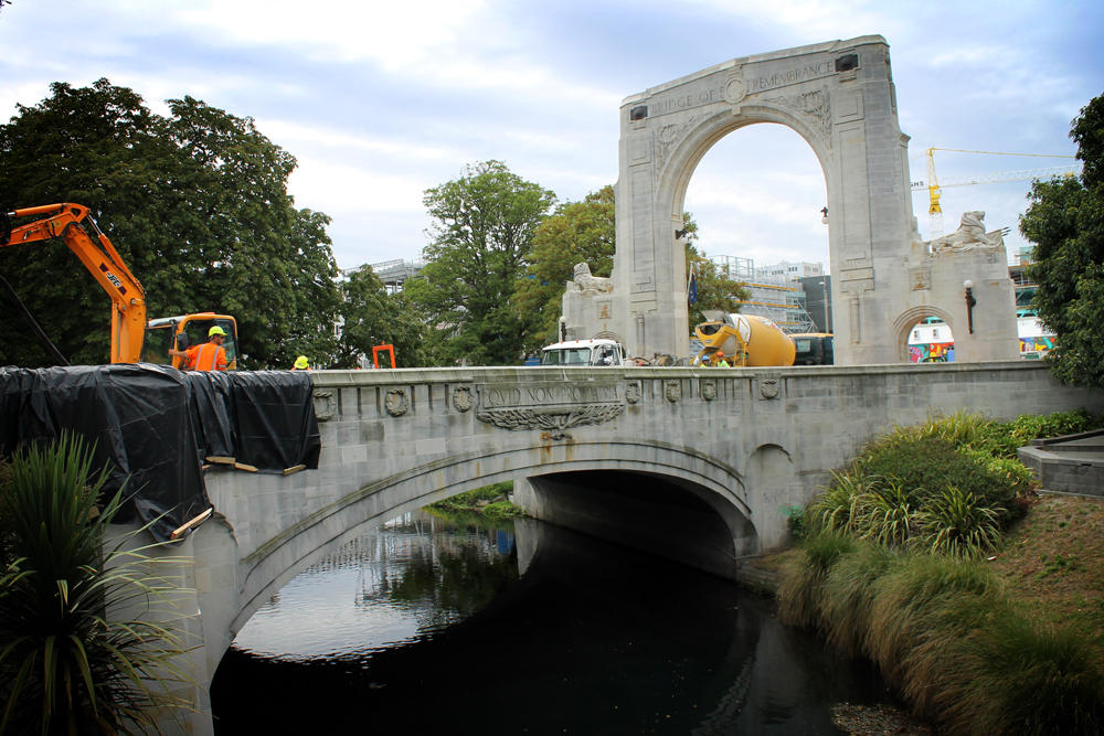 ANZAC Bridge, Christchurch, New Zealand