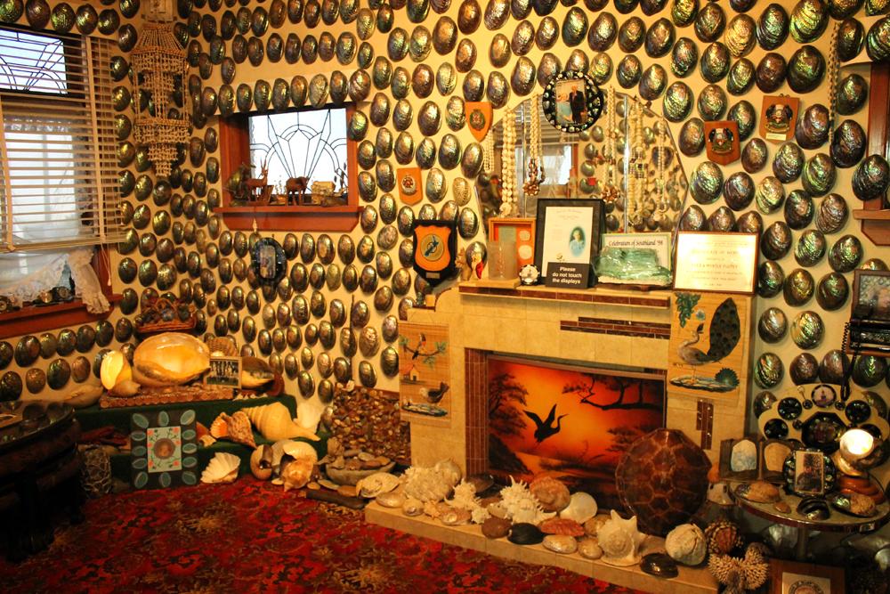 Paua Shell House, Canterbury Museum, Christchurch, New Zealand