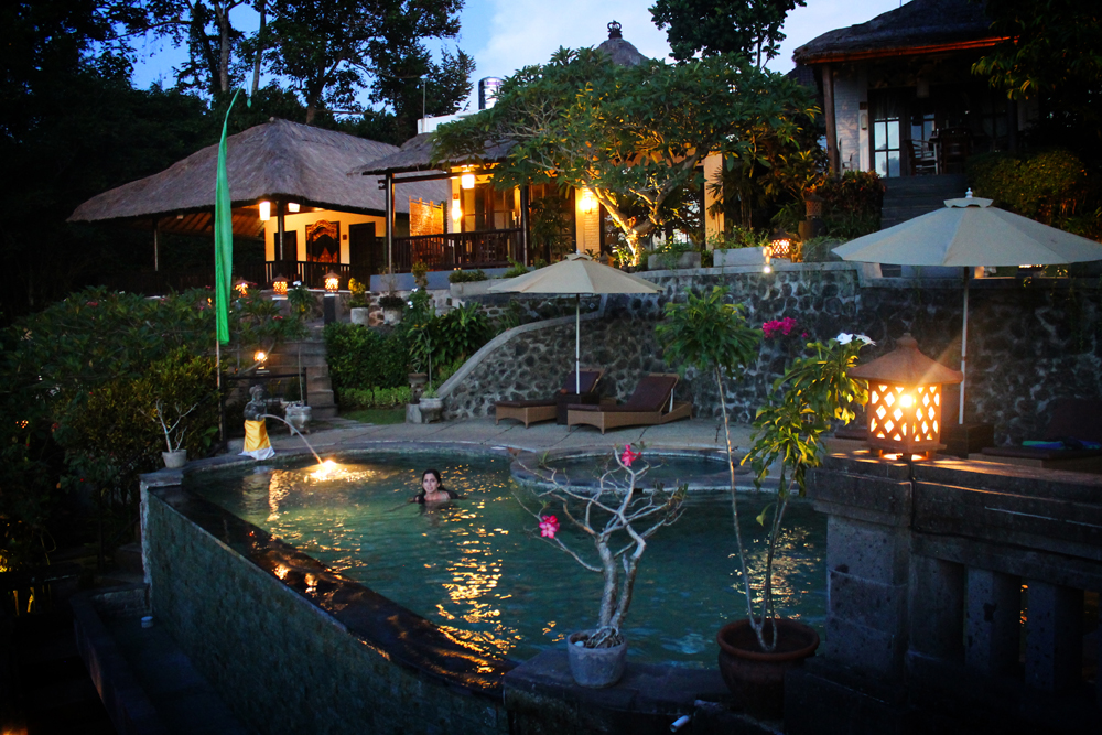 Ubud Dedari Villas pool, Bali, Indonesia