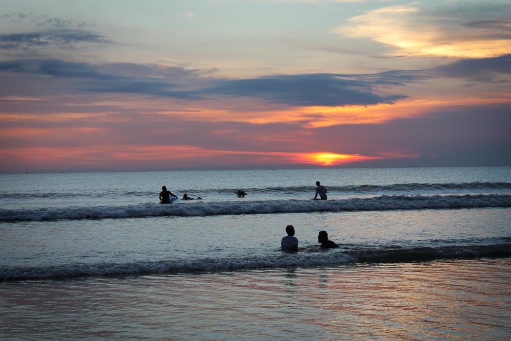 Kuta sunset, Bali, Indonesia