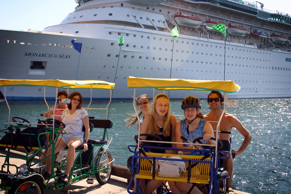 Riding around San Diego with the family on a cruise when I was 15