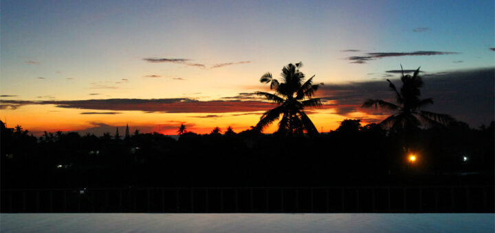 Sunset, Jimbaran, Bali