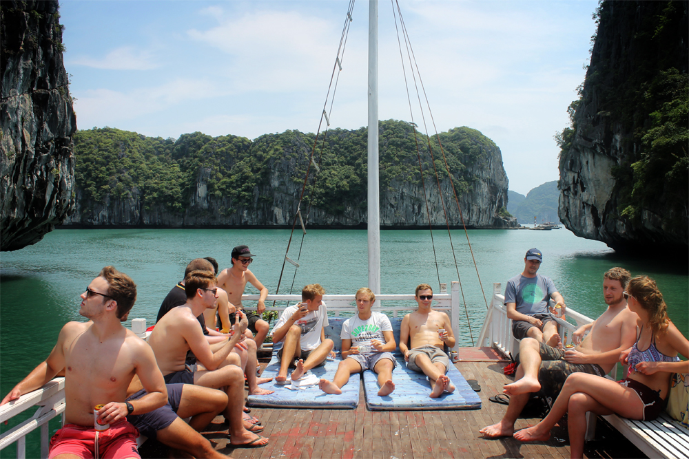 Halong Bay cruise, Vietnam