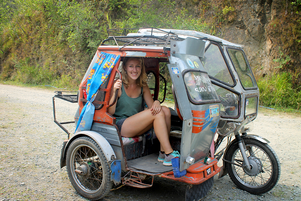 Tricycle, Banaue, The Philippines