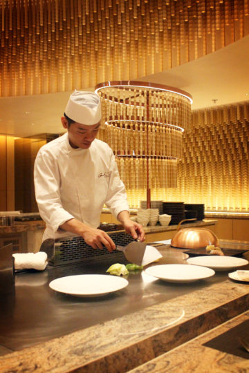 Mark's Teppanyaki, Taipei Marriott