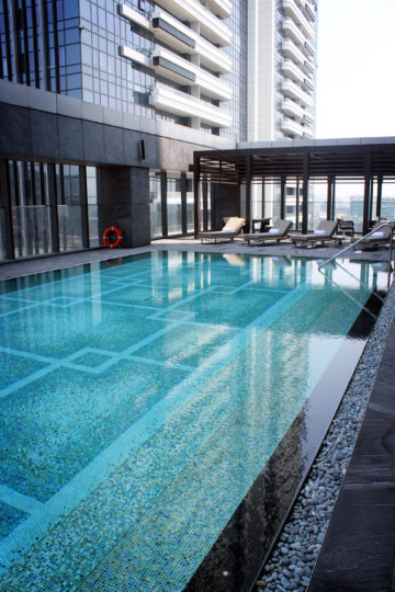 Taipei Marriott Pool, Taiwan