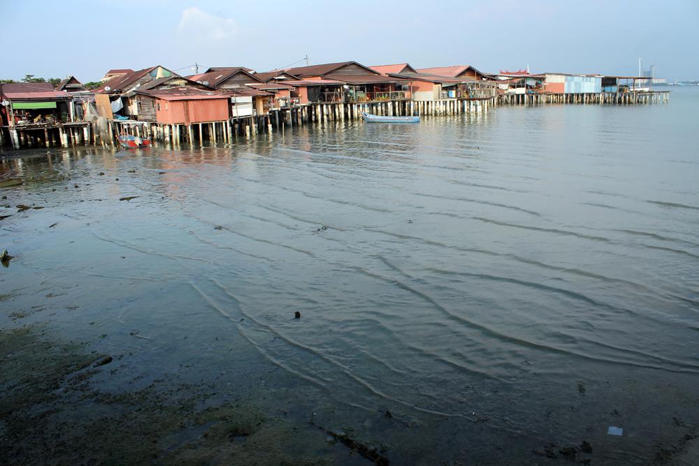 Clan jetty, George Town, Penang, Malaysia