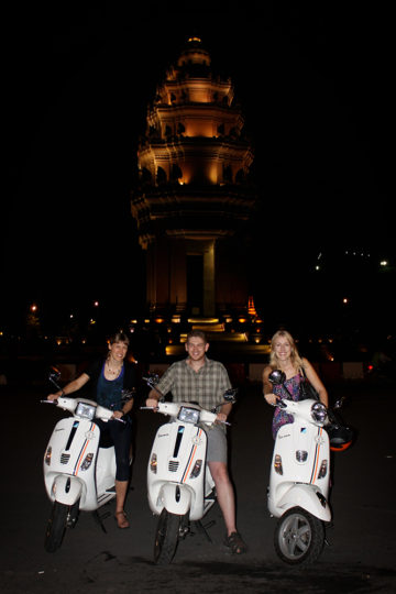 Phnom Penh, Cambodia Vespa Adventure