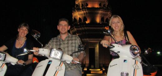 Phnom Penh Vespa Adventures