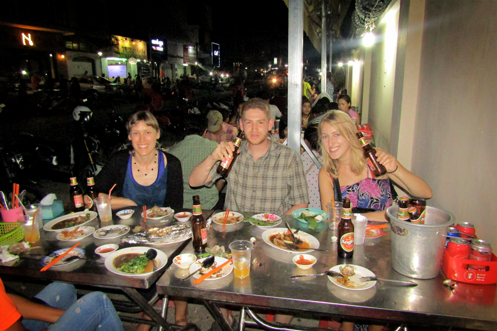 Whirling Through Phnom Penh's Nightlife by Vespa