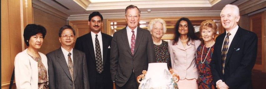 George H. W. Bush, Sherwood Taipei