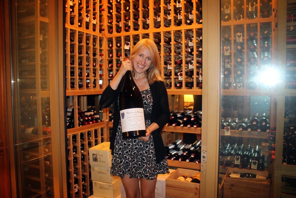Sherwood Taipei wine cellar