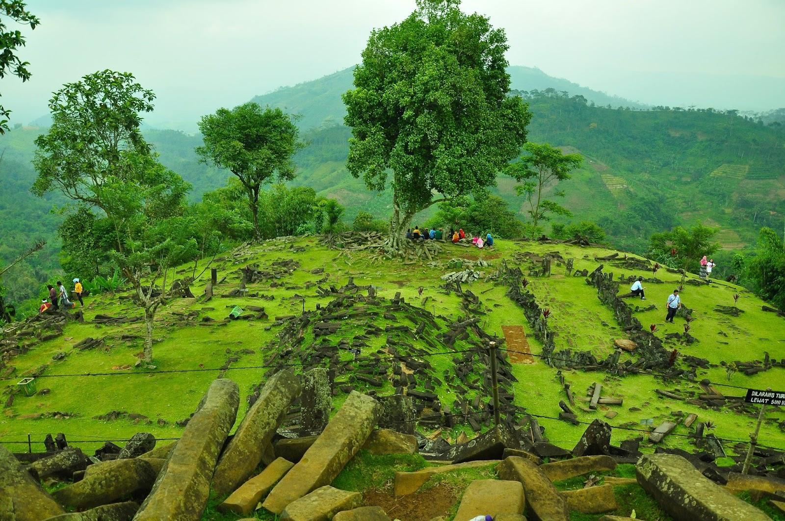 Gunung Padang Megalithic Site, Cianjur, Indonesia