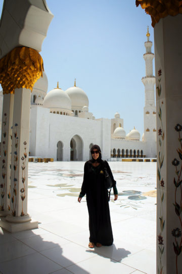 Abu Dhabi's Sheikh Zayed Grand Mosque, United Arab Emirates