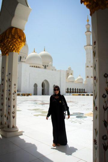 Abu Dhabi's Sheikh Zayed Grand Mosque, United Arab Emirates