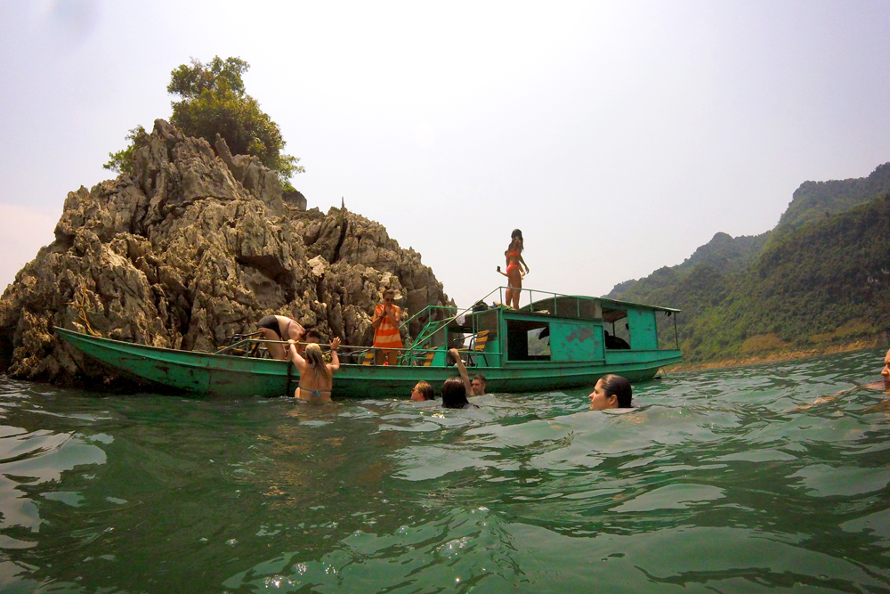 Mai Chau Lake, Vietnam