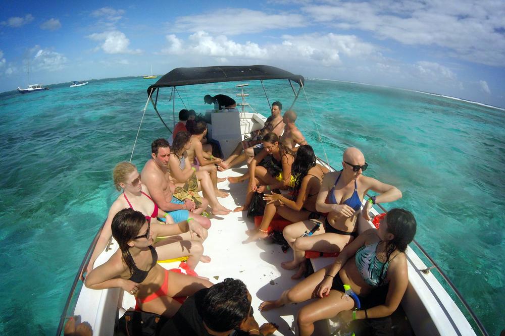 Snorkeling, Caye Caulker, Belize