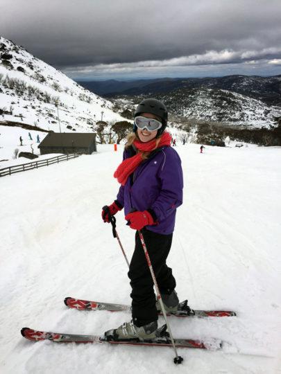 Perisher skiing, Australia