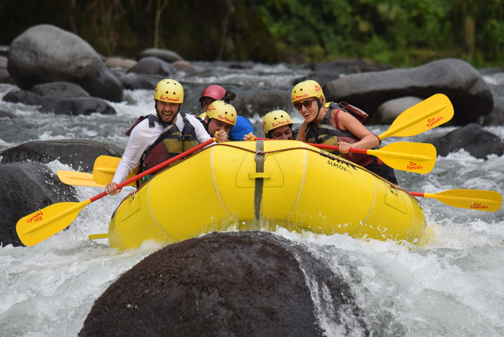 Río Pacuare river rafting, Costa Rica