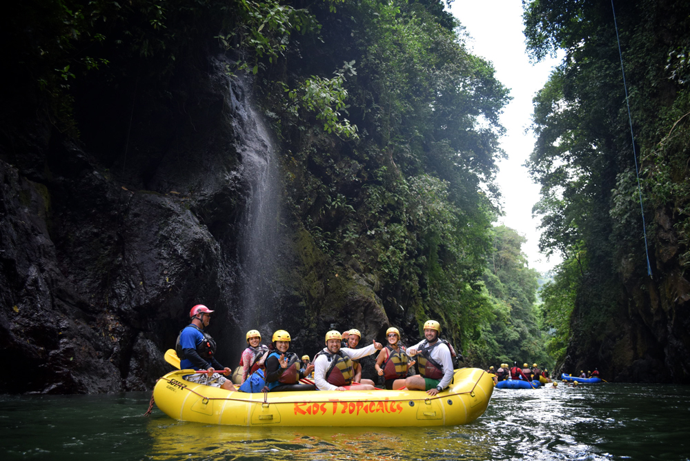 River rafting, Costa Rica
